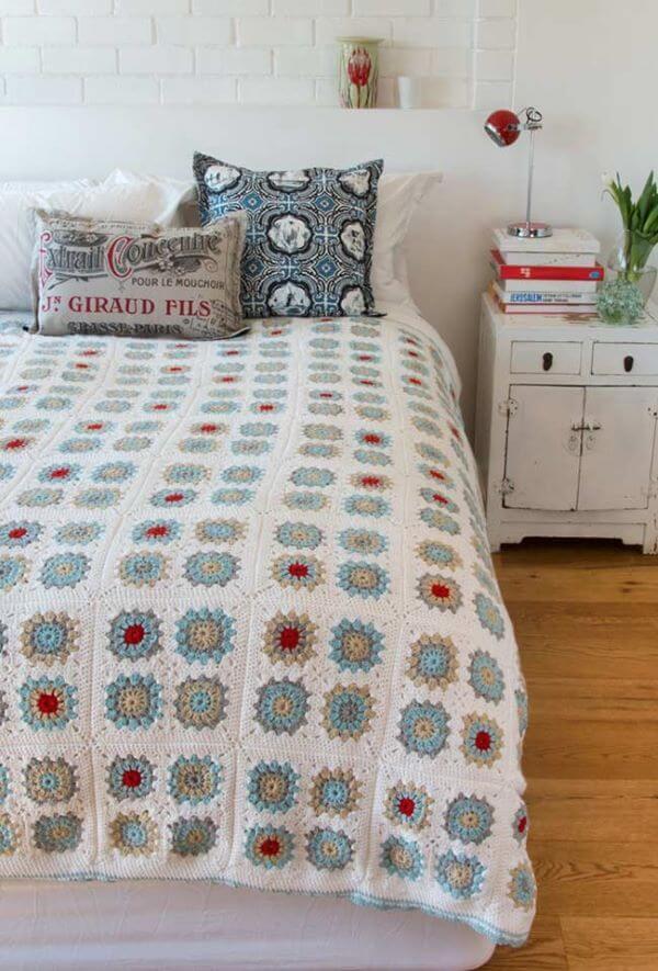 Couple crochet quilt