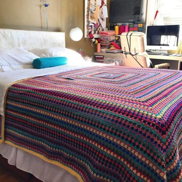 Quilt for colorful double bed