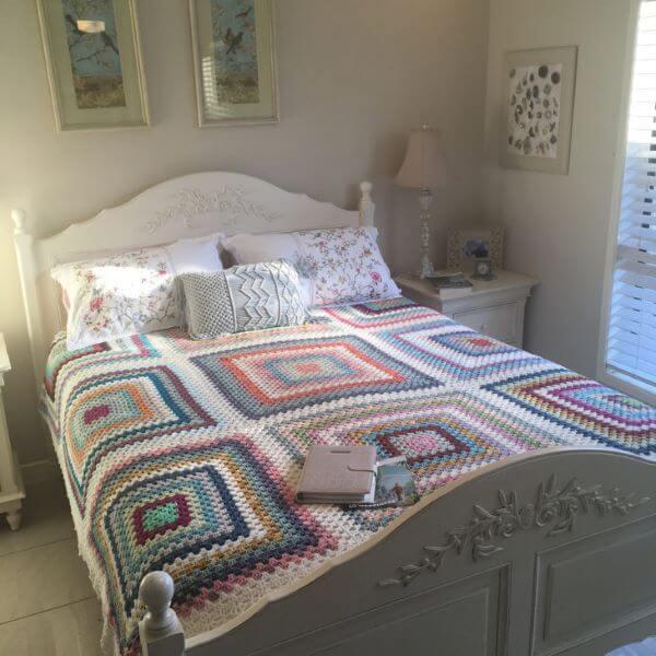 Bedspread for double bedroom