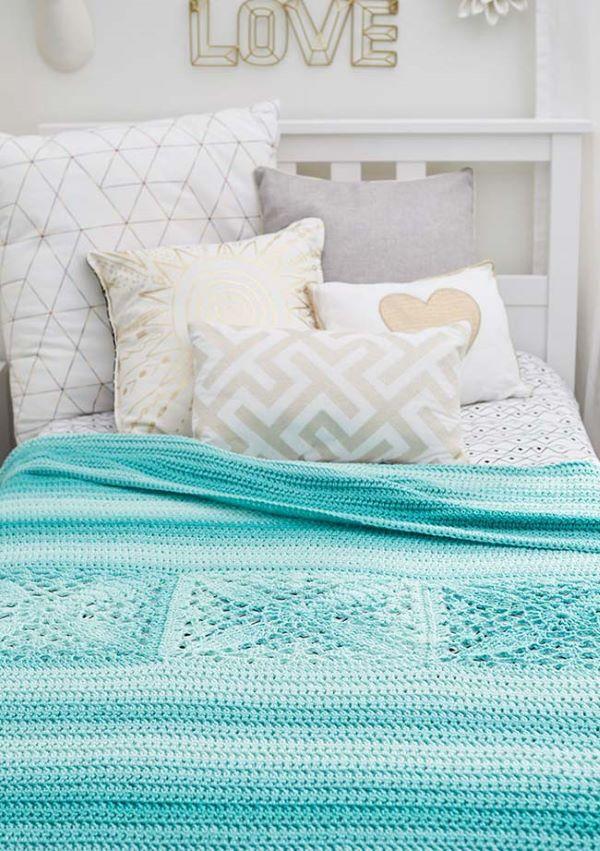 Tiffany crochet quilt