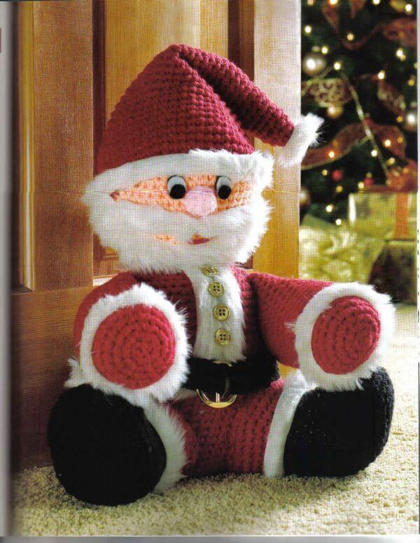 Themed crochet door weight