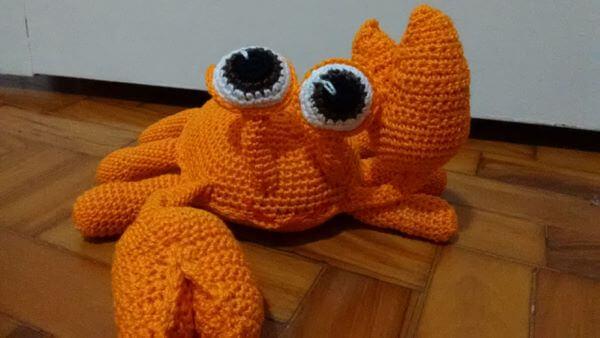 Door weight crochet pets