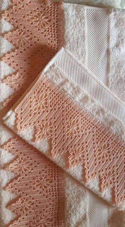 Towel crochet nozzle