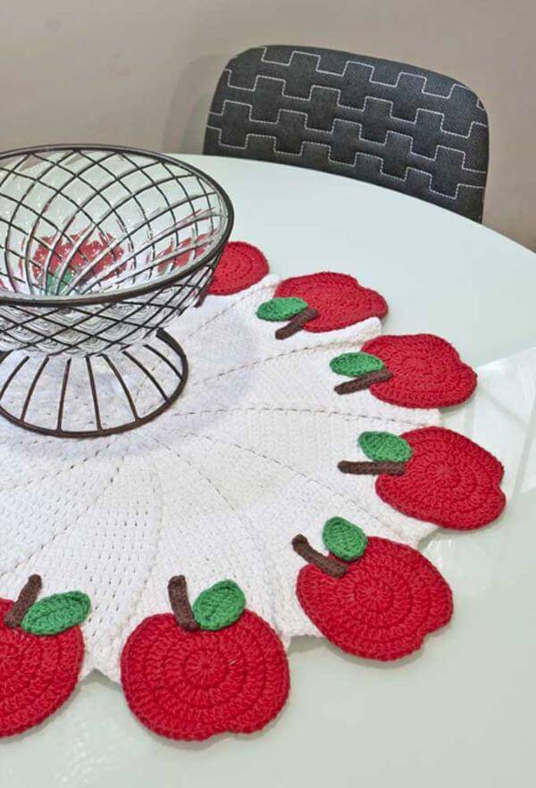Crochet centerpiece