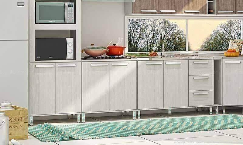 Crochet kitchen rug with zig zag print Store DesignKD
