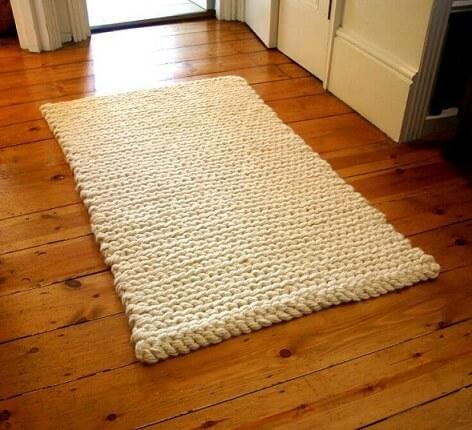 Crochet crochet rug for kitchen high photo of Pinterest