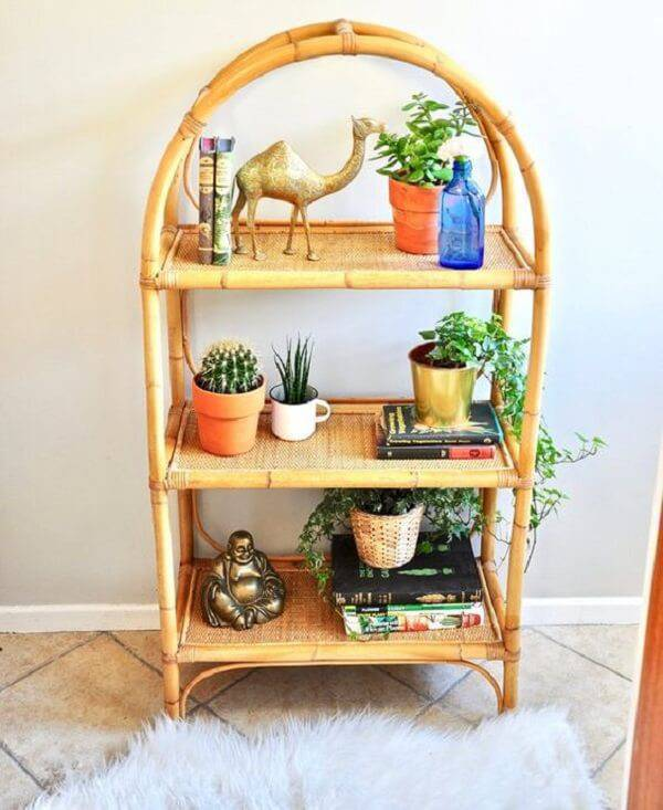 Furniture made of crafts with bamboo