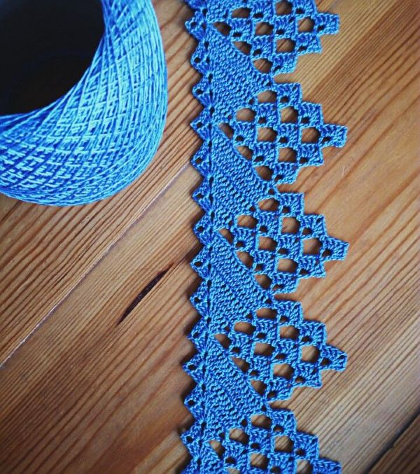 Blue Crochet Beak