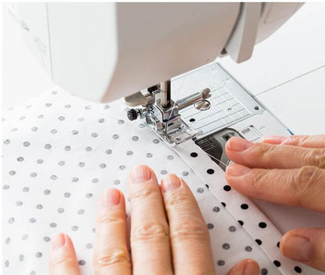 how to make fabric napkin