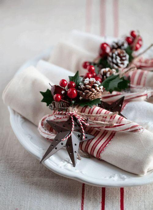 Christmas table cloth napkin