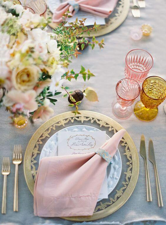 simple fabric napkin