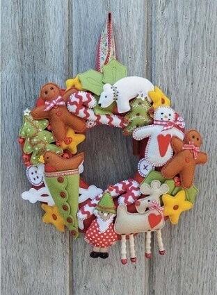 How to Make Felt Christmas Ornaments