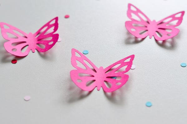 paper butterflies in your home decor