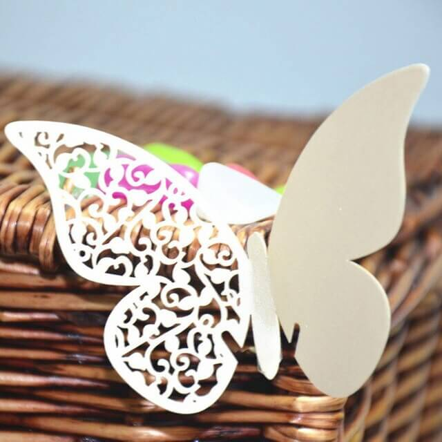 how to make 3D paper butterfly