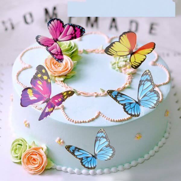 How to make beautiful and colorful paper butterfly