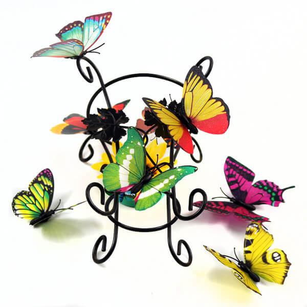 Paper butterflies in home decor