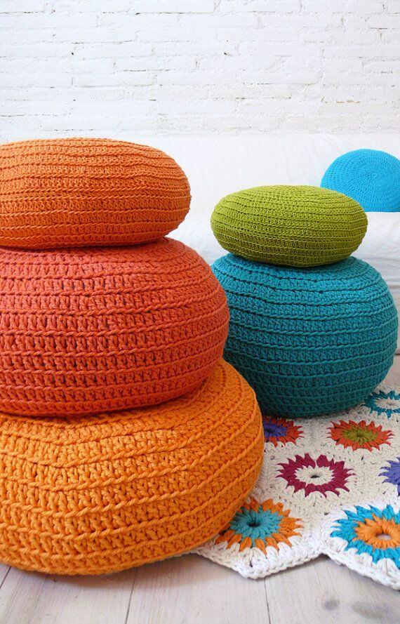 how to make crochet puff