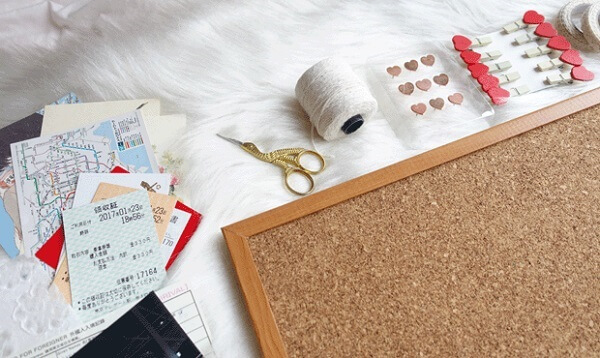 How to make a corkboard with photos