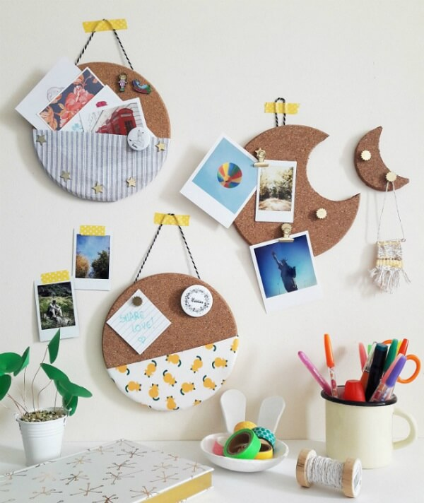 Use and abuse creativity to create a beautiful cork board