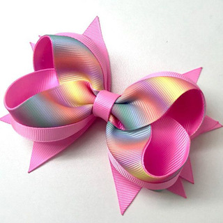 how to make ribbon bow - roca ribbon bow with holographic tones