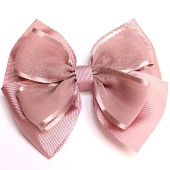 how to make ribbon bow - colorful bow