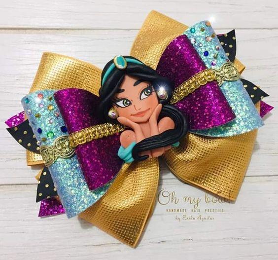 how to make ribbon bow - jasmine bow