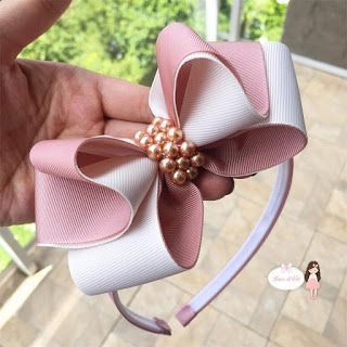 how to make ribbon bow - bow with decorated bow
