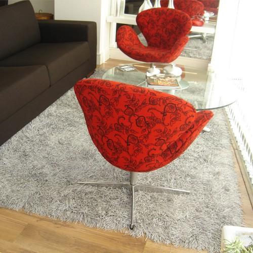 medusa rug - silver rug