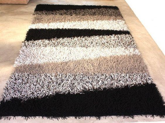 medusa rug - simple striped rug