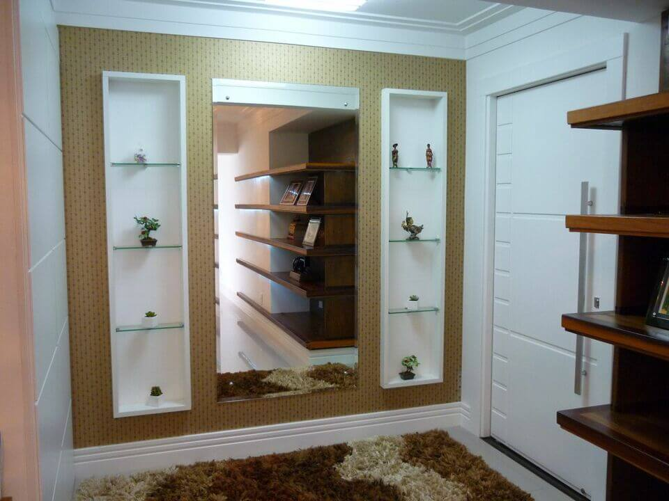 medusa rug - foyer with shag rug