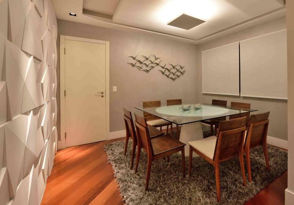medusa rug - wooden floor and shag rug