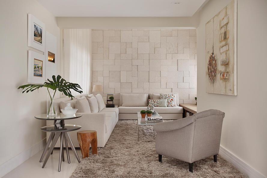 medusa rug - living room with plush rug and armchair