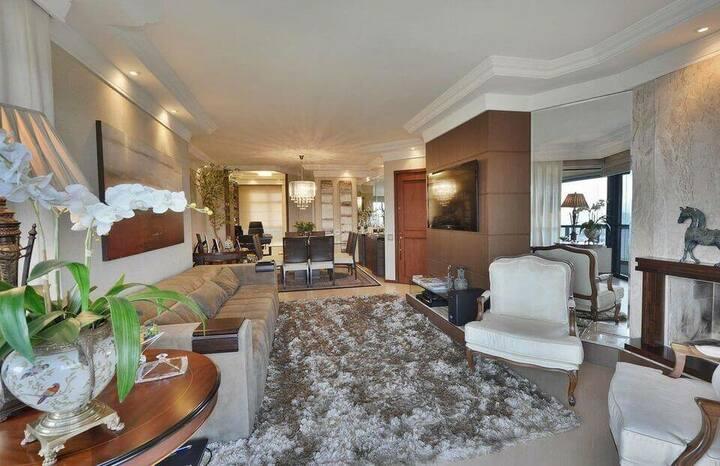 medusa rug - living room with brown shag rug