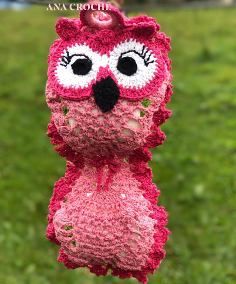 Owl toilet paper holder