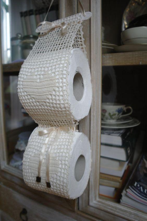 string toilet paper holder