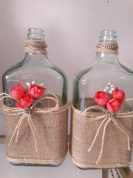 Decorated Bottles - Decorated Whiskey Bottles