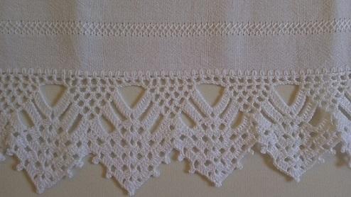 Crochet hook for dishtowels Foto de Arte aos 4 Ventos