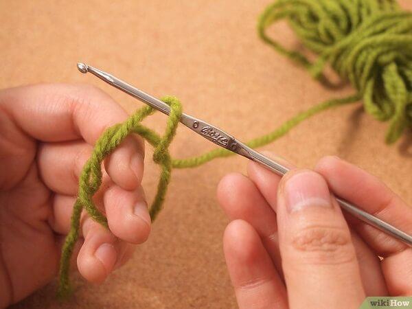Crochet octopus - magic ring