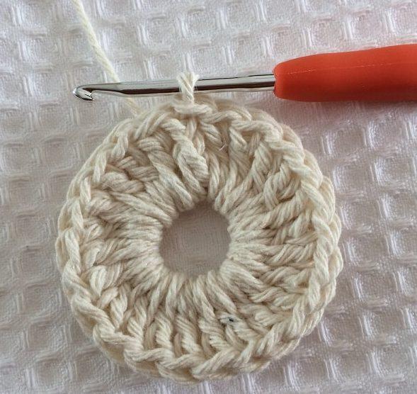 2nd row crochet octopus