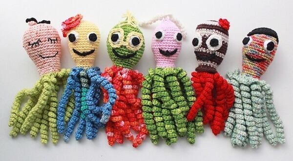 Crochet Octopus Collection