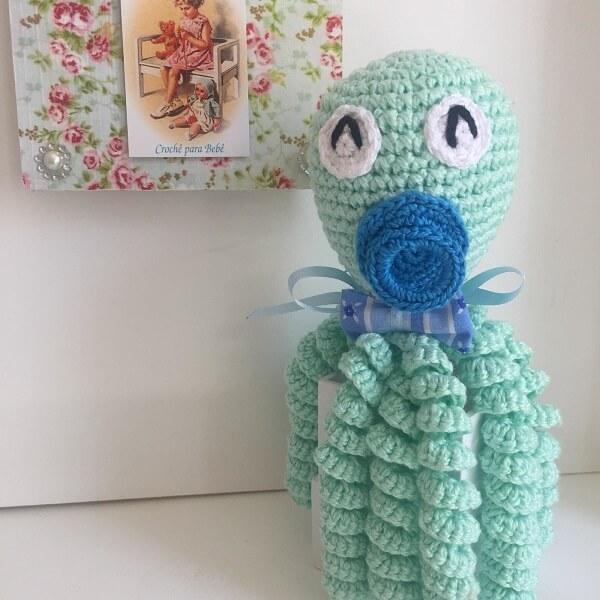 Crochet octopus for newborn