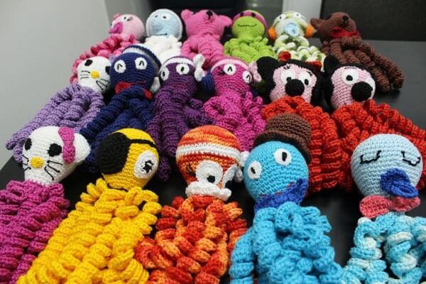Crochet Octopus Characters