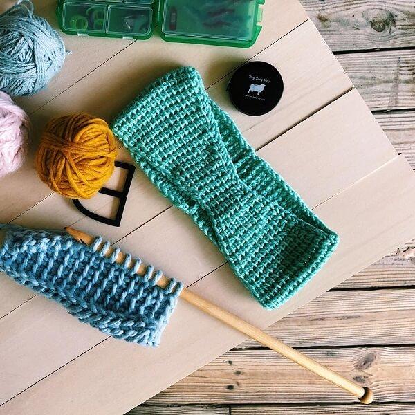 How to crochet Tunisian