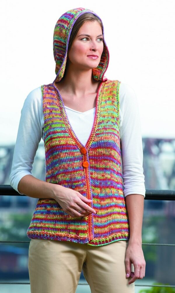 Create beautiful pieces with the Tunisian crochet technique