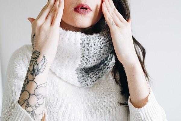 Neck collar template