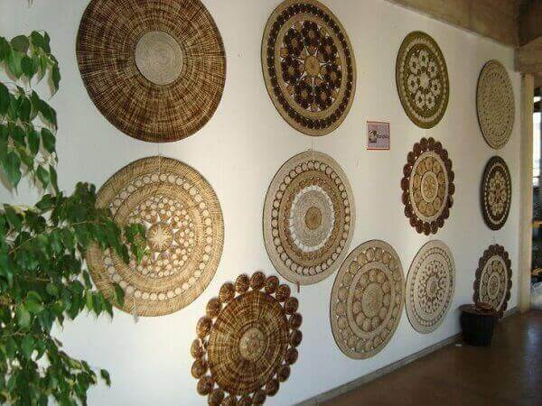 Handicrafts in general mandalas