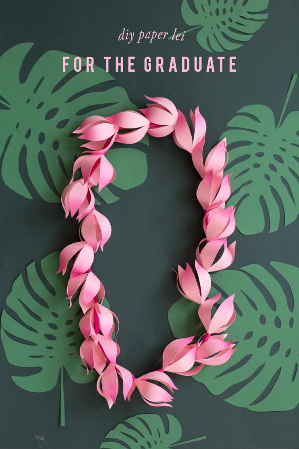 Learn how to make paper flowers and a necklace