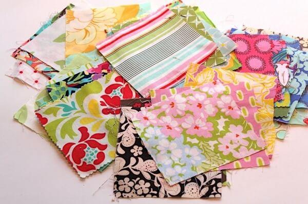 Patchwork various fabrics