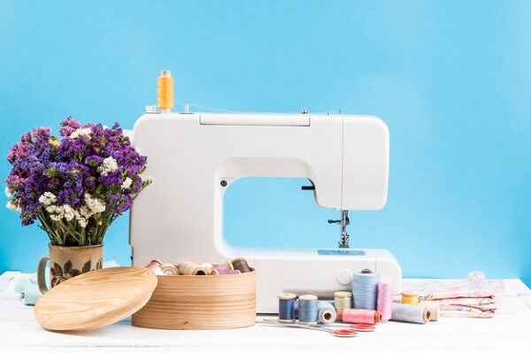 Patchwork sewing machine materials