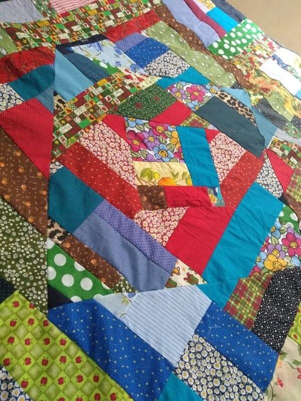 Rectangular patchwork
